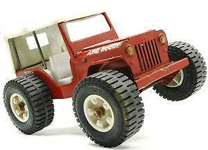 Tonka Jeep Pressed Steel Ebay