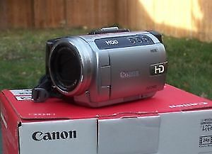 Canon Black/Silver HG10 Full HD 40 GB HDD Video Camcorder