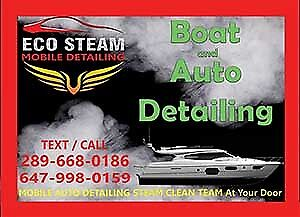 PROFESSIONAL STEAM DETAILING (Automobile, Fleet Truck, Boat)