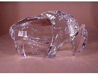 Swarovski Crystal Buffalo