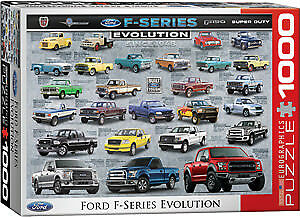 1000 piece jigsaw puzzle Ford F150 truck