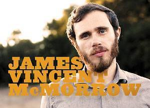2x James Vincent McMorrow Tickets - Section D37 Sydney City Inner Sydney Preview