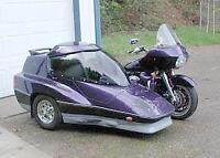 Yamaha Venture with side car