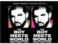 X3 Drake London 02 Arena (The boy meets world tour)