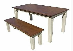HALF PRICE BRAND NEW DINING TABLE + TWO BENCHES ON SALE ONE LEFT Eastern Suburbs Preview