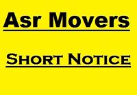 Asr Moving Systems      SAME DAY -SHORT NOTICE      416 871 6100