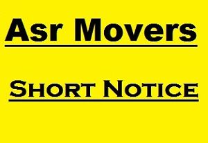 Asr Movers          SAME DAY___SHORT NOTICE         416 871 6100