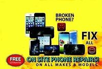 All brands of cell phone, laptop, desktop, tablet repair at one