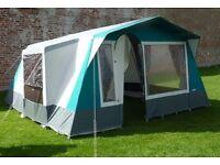 Cabanon Las Palmas tent - sleeps 6 people