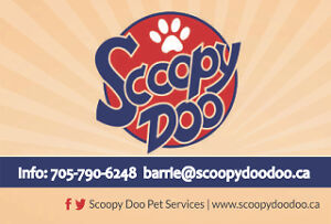 Scoopy Doo Poop clean up services