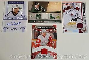 Lot of Four NHL Upper Deck Hockey Cards