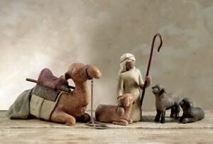 Willow Tree: Shepherd & Stable Animals for Nativity