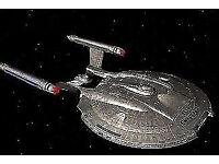 Star Trek Enterprise - 4 DVD Hard dvd Boxsets (collectors hard dvd cases) as new .. £25