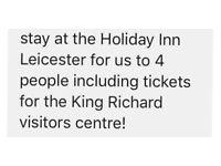 Hotel stay Holiday Inn