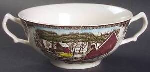 Johnson Brothers - The Friendly Village - Handled Bowl
