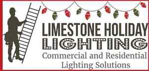 Free Christmas lighting and or window painting quote Kingston Kingston Area image 2