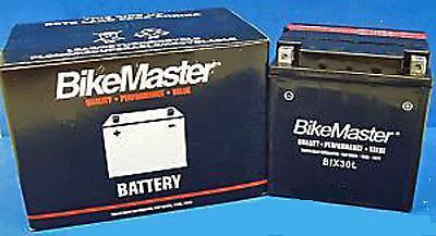 Bike Master Battery + Free Charger Harley Touring Fltr Road Glide Fltrx 97-12