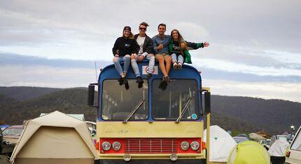 PARTY BUS, FESTIVAL CRUISER, DRIVE AROUND AUSTRALIA