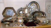 Paying CASH For ANY Silver Plate!! Old, Tarnished, Boken, $2/LB!