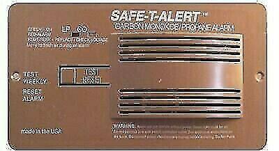 Safe-T-Alert 70-742-P-BR Brown Flush Mount CO/Propane Dual Gas Alarm