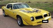 1976 Pontiac Firebird Transam LHD American South Toowoomba Toowoomba City Preview