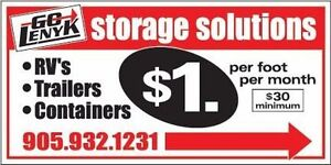 Outdoor Storage: Campers, Trailers, RVs, Vehicles etc