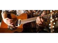 Acoustic gutarist wanted for PAID gigs