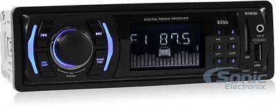 Boss 612UA Single-Din Digital Media Car Stereo Receiver w/ USB & Aux Inputs