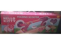 Folding scooter brand new