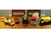 Toy cars/trucks