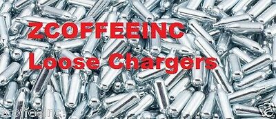 120 Whip Cream Chargers Nitrous Oxide N2O Whipped LOOSE SILVER 8g NEW GREAT ITEM