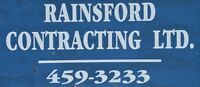 RAINSFORD CONTRACTING LTD - YOUR EXCAVATION SPECIALISTS