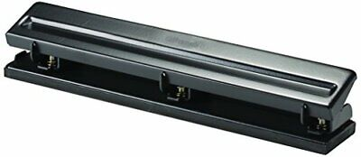 Officemate Standard 3 Hole Punch With 8 Sheet Capacity Black