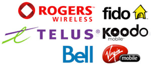 UNLOCK YOUR SAMSUNG LG HTC IPHONE FROM SASKTEL BELL TELUS ROGERS