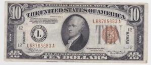 1934 10 Dollar Bill