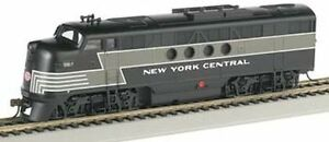 Bachmann 11713 HO Scale FT-A Diesel Locomotive New York Central w/ Headlight New