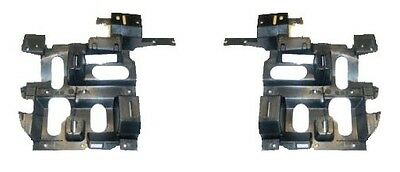 Chevy Silverado 03-07 Headlights Headlamps Brackets Pair Set Left & Right