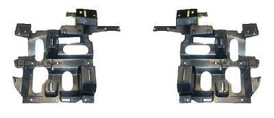 Chevy Silverado Pickup 03-07 Headlights Headlamps Brackets Pair Set Left & Right