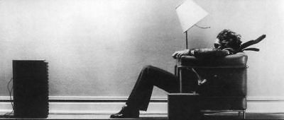 "Maxell Blown Away Speaker Ad Poster 24/""x36/"" USA SELLER"