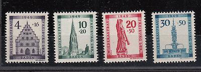 Franz. Zone Baden 38-41 A postfrisch (1)