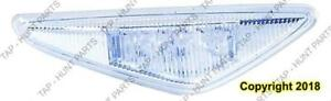 Repeater Lamp Driver Side Clear Coupe/Convertible High Quality BMW 3-Series (E46) 2003-2006