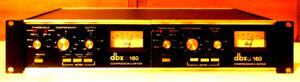 DBX 160 Stereo Compressor. Just completely serviced by E.A.W.