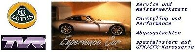 Experience car parts Lotus TVR
