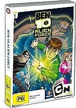 Ben 10 - Alien Force : Vol 1 (DVD, 2008) New Region 4