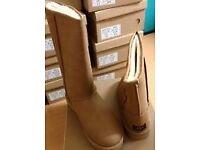Chestnut or Black Ladies Ugg Boots