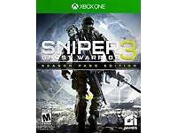 Sniper 3 ghost warrior Xbox one