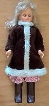 "Vintage 32"" Regal Doll Blonde with Blue Eyes"