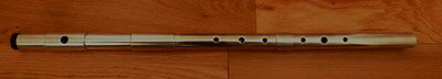Low D Flute Aluminium 3pce  with Lip plate