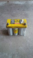 Yellow Top Battery deep cycle.