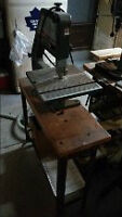 Band Saw With Stand